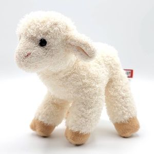 Douglas ivory cream standing Babba Lamb plush